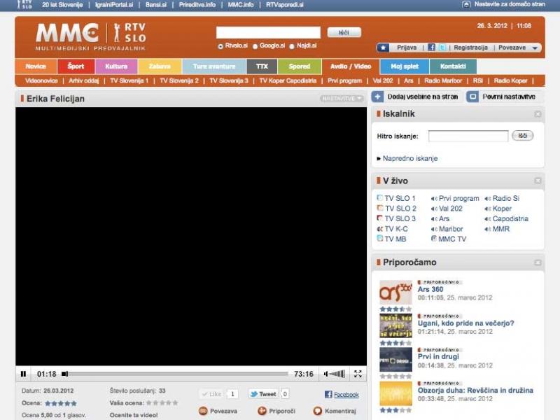 oddaja Nočni gost / Prvi program radia SLO / 26.3.2012<br />http://tvslo.si/predvajaj/erika-felicijan/ava2.132431625/